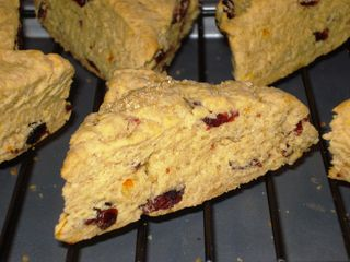 Orange Cranberry Scones 2